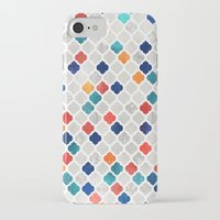 moroccan iPhone & iPod Cases featuring Sea & Spice Moroccan Pattern by micklyn