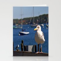 maine Stationery Cards featuring Maine Local by Catherine1970