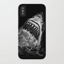 Shark Painting iPhone Case
