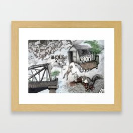 Cliche' as Fuck Framed Art Print