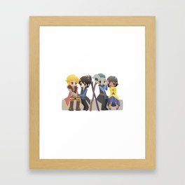 Dragon Age - Cullen, Josephine, and Inquisitors [Commission] Framed Art Print
