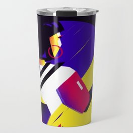 Victory to the moon Travel Mug