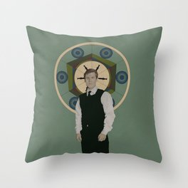Handsome Doctor Throw Pillow