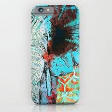 Indian Sketch Elephant iPhone 6s Slim Case