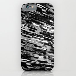 paradigm shift (monochrome series) iPhone Case