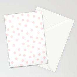 Simply Dots in Pink Flamingo Stationery Cards