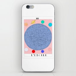 l'etoile - the star tarot card iPhone Skin