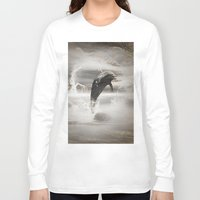 dolphin Long Sleeve T-shirts featuring Dolphin by nicky2342