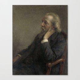 Rev. PH Hugenholtz II, founder of the Free Commune, Jan Veth, 1908 Canvas Print