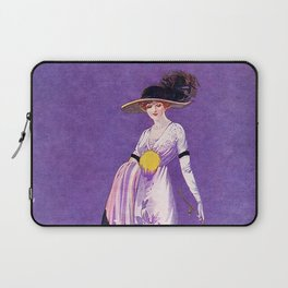 Vintage Lady from 1912 Laptop Sleeve
