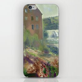 "George Wesley Bellows ""Deserted Factory"" iPhone Skin"