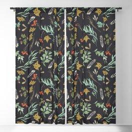 Boho vintage nature Blackout Curtain