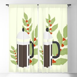 French press Blackout Curtain