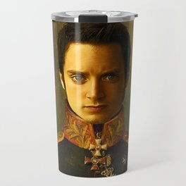 Elijah Wood - replaceface Travel Mug