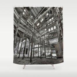 Metallic Structures Shower Curtain