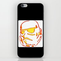 storm trooper iPhone & iPod Skins featuring Storm trooper  by luccabanana