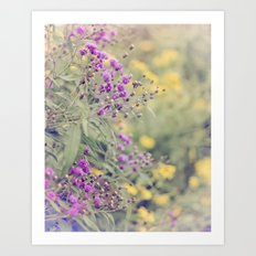 Nature's Painting Art Print