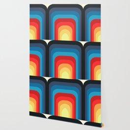 Retro Rainbow 01 Wallpaper