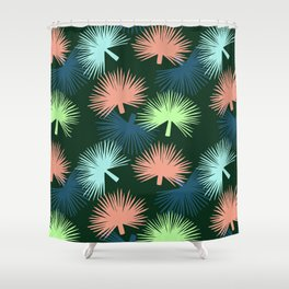 oversized palms Shower Curtain