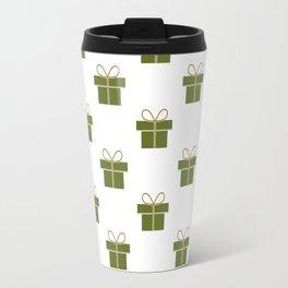 Christmas gift pattern Travel Mug