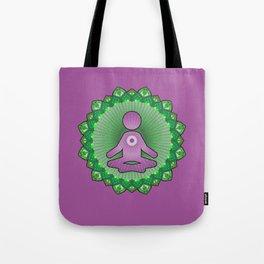 Mindful Yoga Pose Gift For Yogi and Yogini Tote Bag