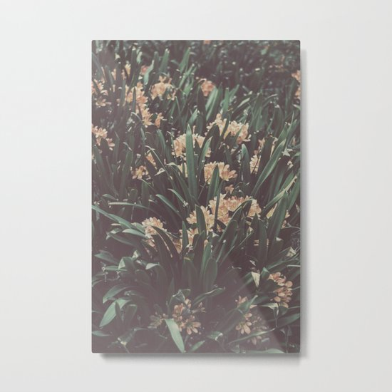 Jungle Blooms Metal Print