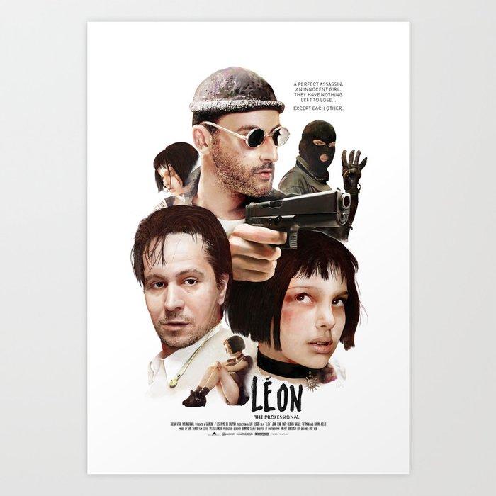 Leon: The Professional Art Print
