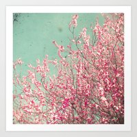 blossom Art Prints featuring Blossom by Cassia Beck