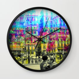 As an example of a result in spite of the process. Wall Clock