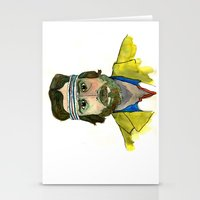 tenenbaum Stationery Cards featuring Richie Tenenbaum by Tessa Heck