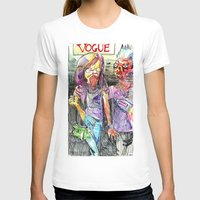 pugs T-shirts featuring Vogue pugs by Stin