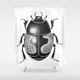 Beetle 10 Shower Curtain
