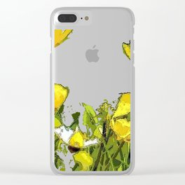 Buttercups bywhacky Clear iPhone Case