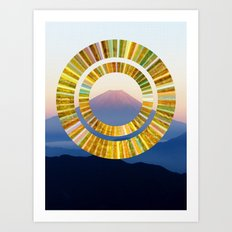 The Rising Sun Art Print