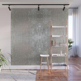 Silver Velvet Snake Pattern Wall Mural