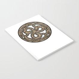 Bronze Medallion Notebook