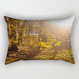 Golden season Rectangular Pillow