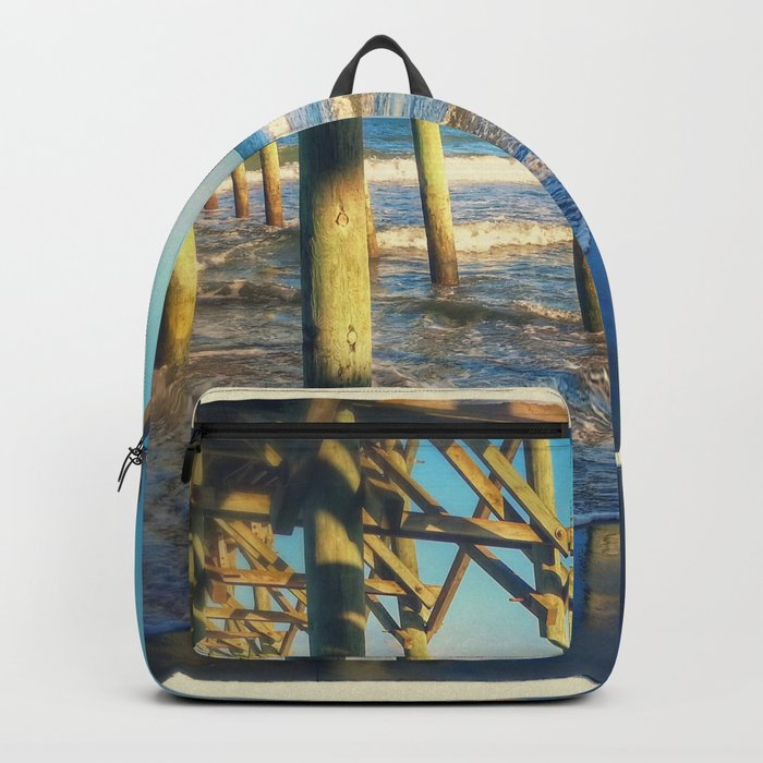 Beach Pier Backpack