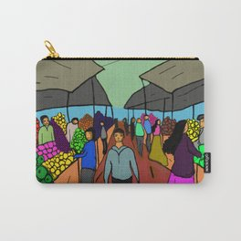 busy market Carry-All Pouch