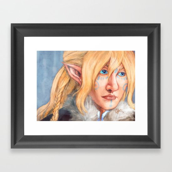Winterborn Framed Art Print