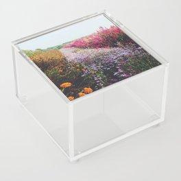 field of flowers Acrylic Box