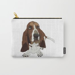 Basset Hound Carry-All Pouch