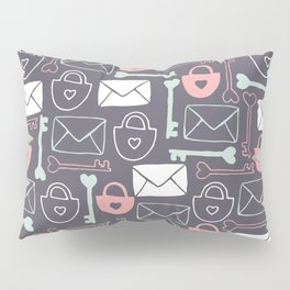 Key to my Heart Pillow Sham