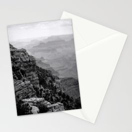 Grand Canyon in Black and White Stationery Cards