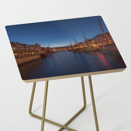 Early evening lights on the Nyhavn Side Table