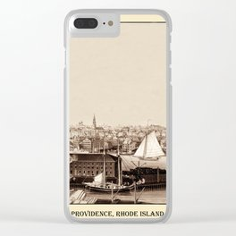 Providence 1858 Clear iPhone Case