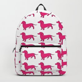 Doxie Love - Pink Backpack