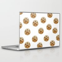 emoji Laptop & iPad Skins featuring COOKIE EMOJI by FaniS