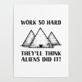 Aliens Did It! Poster