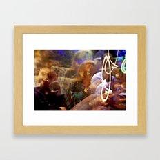 J Dam Framed Art Print